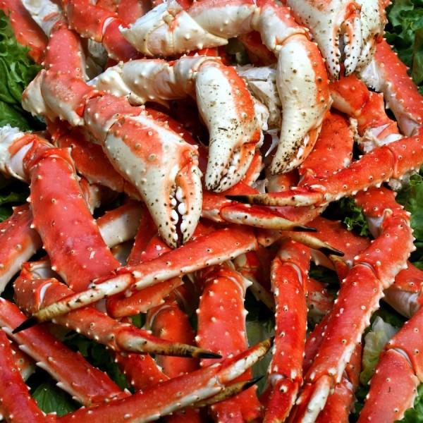 Giant King Crab Legs