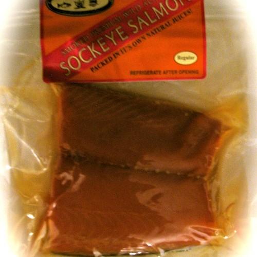 smoked sockeye salmon honey