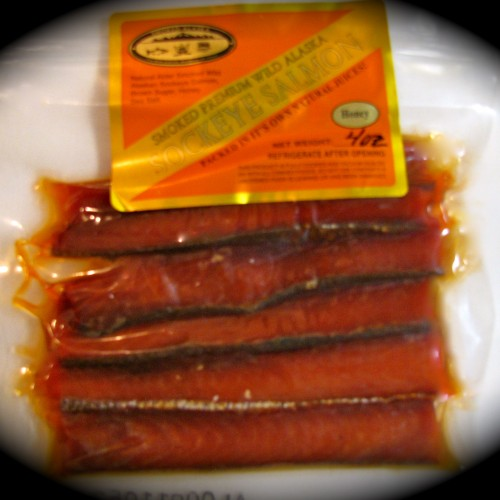 Pepper Smoked Sockeye 4 oz.